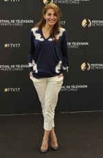 Caterina Murino At Absentia Photocall at 57th Monte Carlo TV Festival