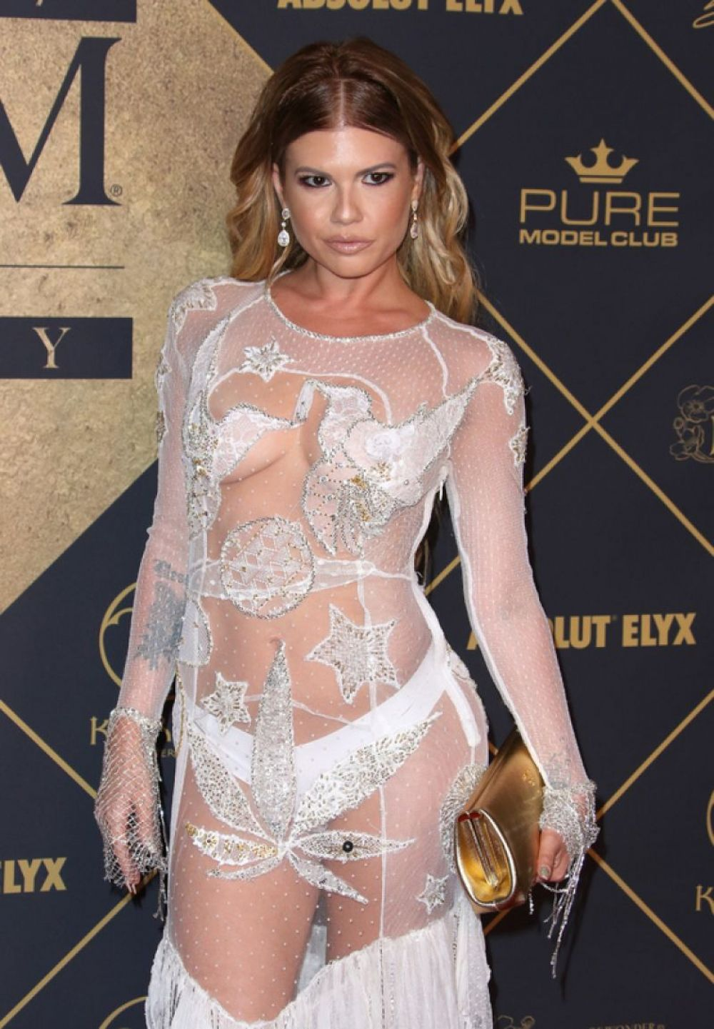 chanel west coast at 2017 maxim hot 100 party in los angeles - celebzz
