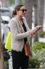 Claire Forlani Out and About in Beverly Hills