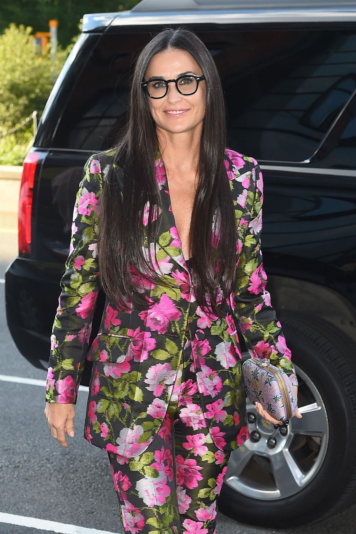 Demi Moore At Blind Premiere in New York