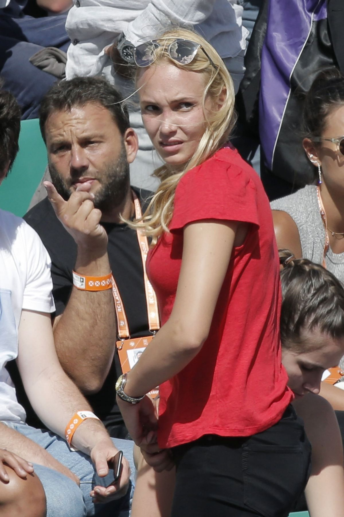 Donna Vekic At the French Open, Paris, France