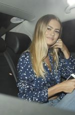 Ella Rose Arrives at The Chiltern Firehouse, London