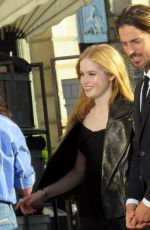 Ellie Bamber On the set of a Photoshoot in Paris