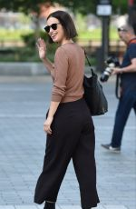 Heida Reed At BBC Breakfast Studio in Manchester