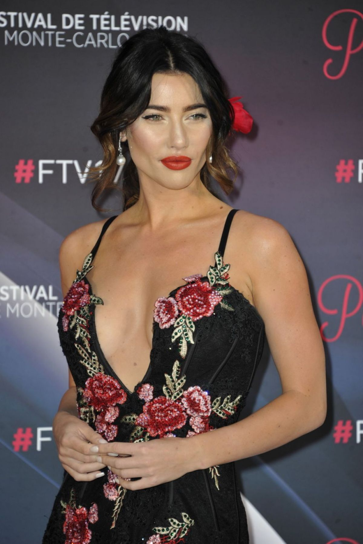 Jacqueline MacInnes Wood At Monte Carlo TV Festival, TV ...