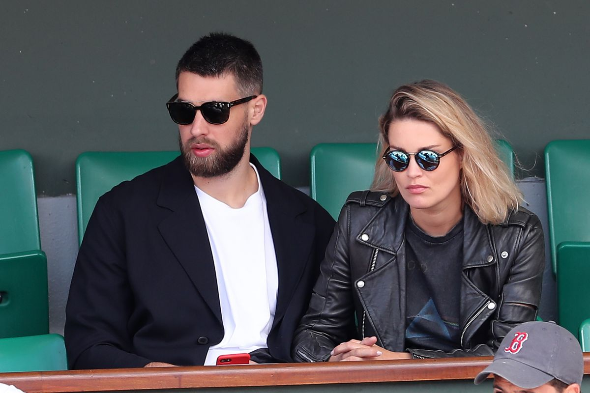 Jeny Priez At the French Open, Paris, France
