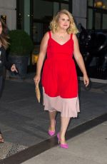 Jillian Bell Seen leaving her hotel in NY