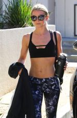 Julianne Hough Spotted on her way to a workout at a gym in L.A.