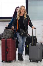 Julie Benz Seen at the airport in Sydney