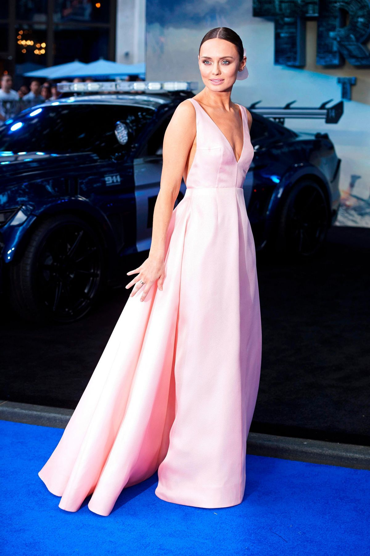 Laura Haddock At Transformers: The Last Knight Premiere in London