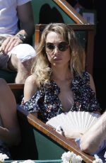 Laura Smet At The French Open Mens Final At Roland Garros In paris, France