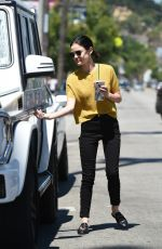 Lucy Hale Interacting with Fans - Studio City