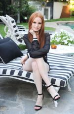 Madelaine Petsch At Cover Launch Event - by Popular Magazine and Wildfox Couture - LA