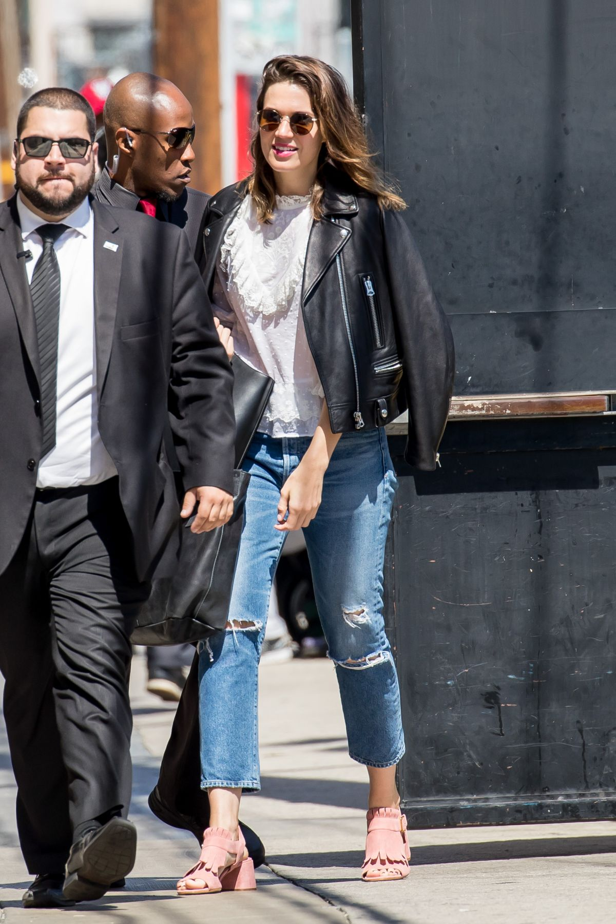 Mandy Moore At 'Jimmy Kimmel Live' in Hollywood   mandy-moore-at-jimmy-kimmel-live-in-hollywood-_3