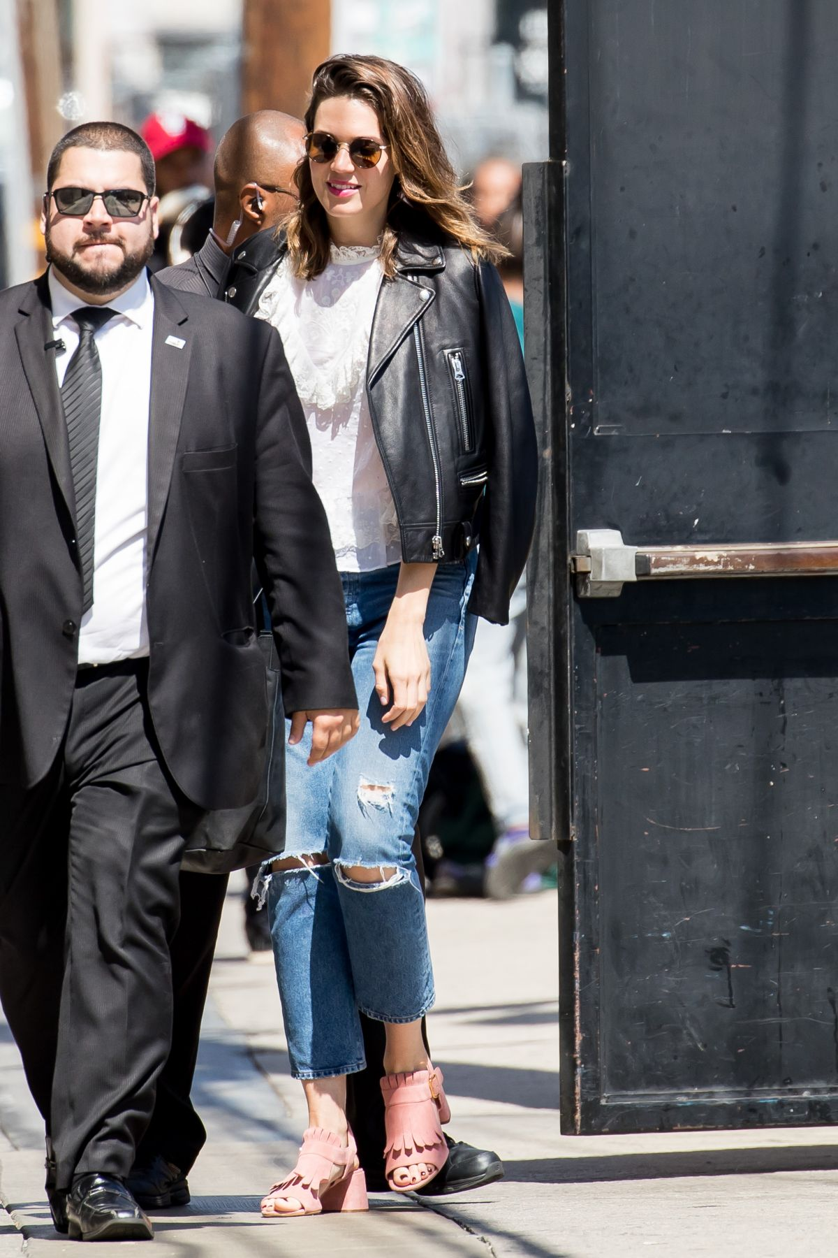 Mandy Moore At 'Jimmy Kimmel Live' in Hollywood   mandy-moore-at-jimmy-kimmel-live-in-hollywood-_7