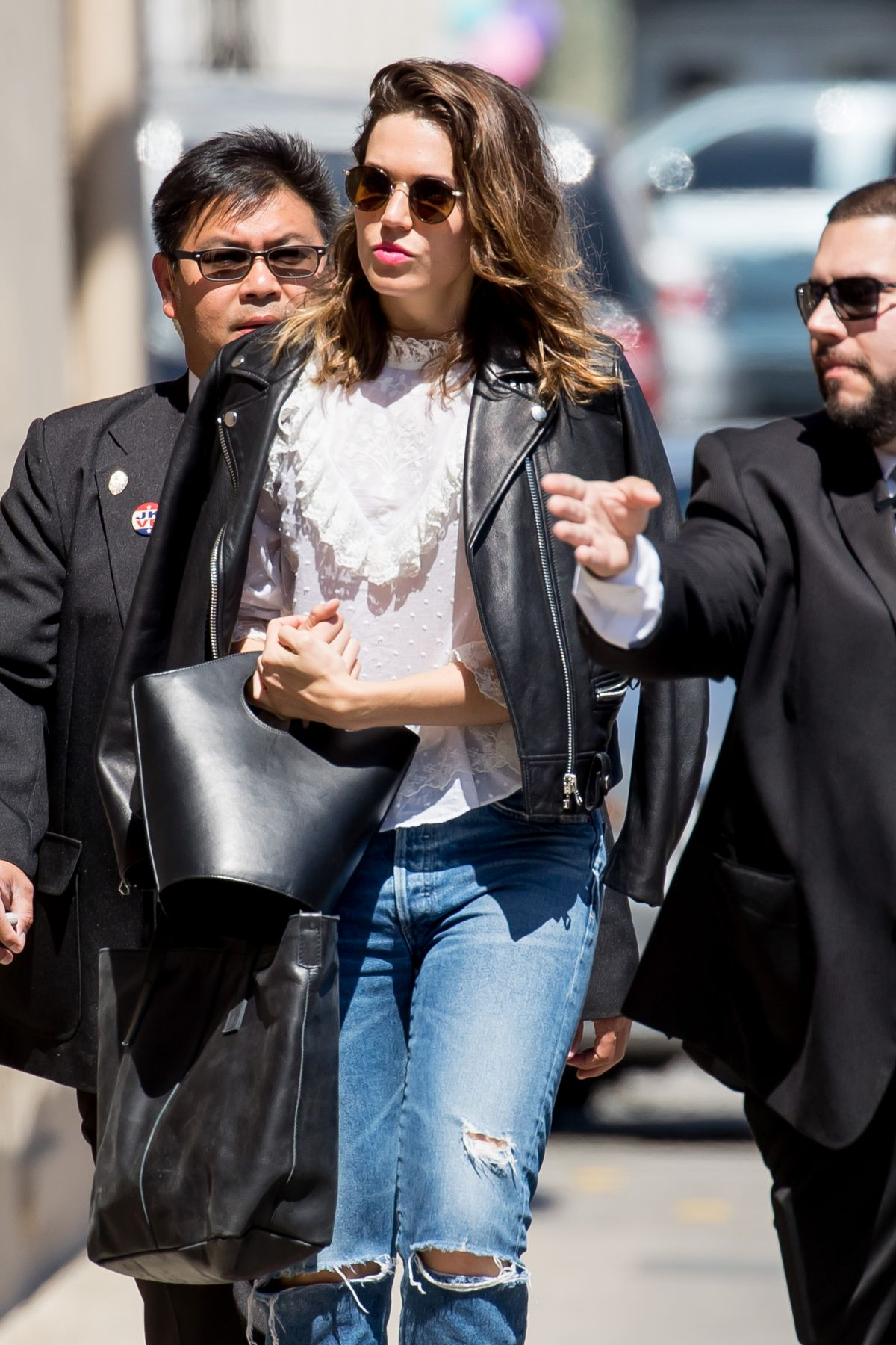 Mandy Moore At 'Jimmy Kimmel Live' in Hollywood   mandy-moore-at-jimmy-kimmel-live-in-hollywood-_8
