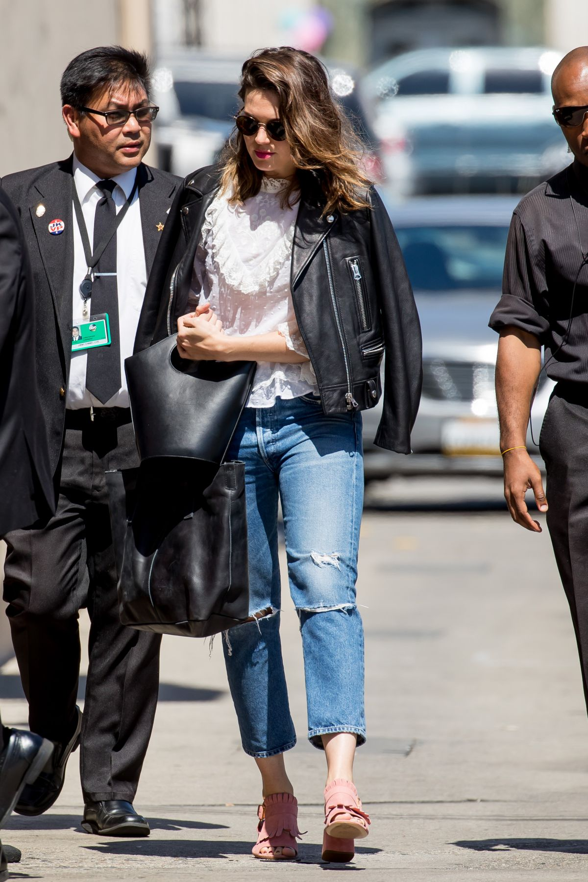 Mandy Moore At 'Jimmy Kimmel Live' in Hollywood   mandy-moore-at-jimmy-kimmel-live-in-hollywood-_9