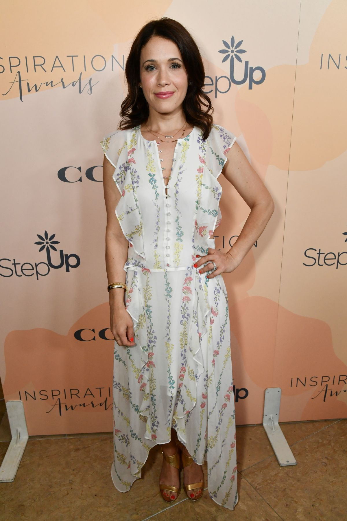 Marla Sokoloff At Inspiration Awards in LA
