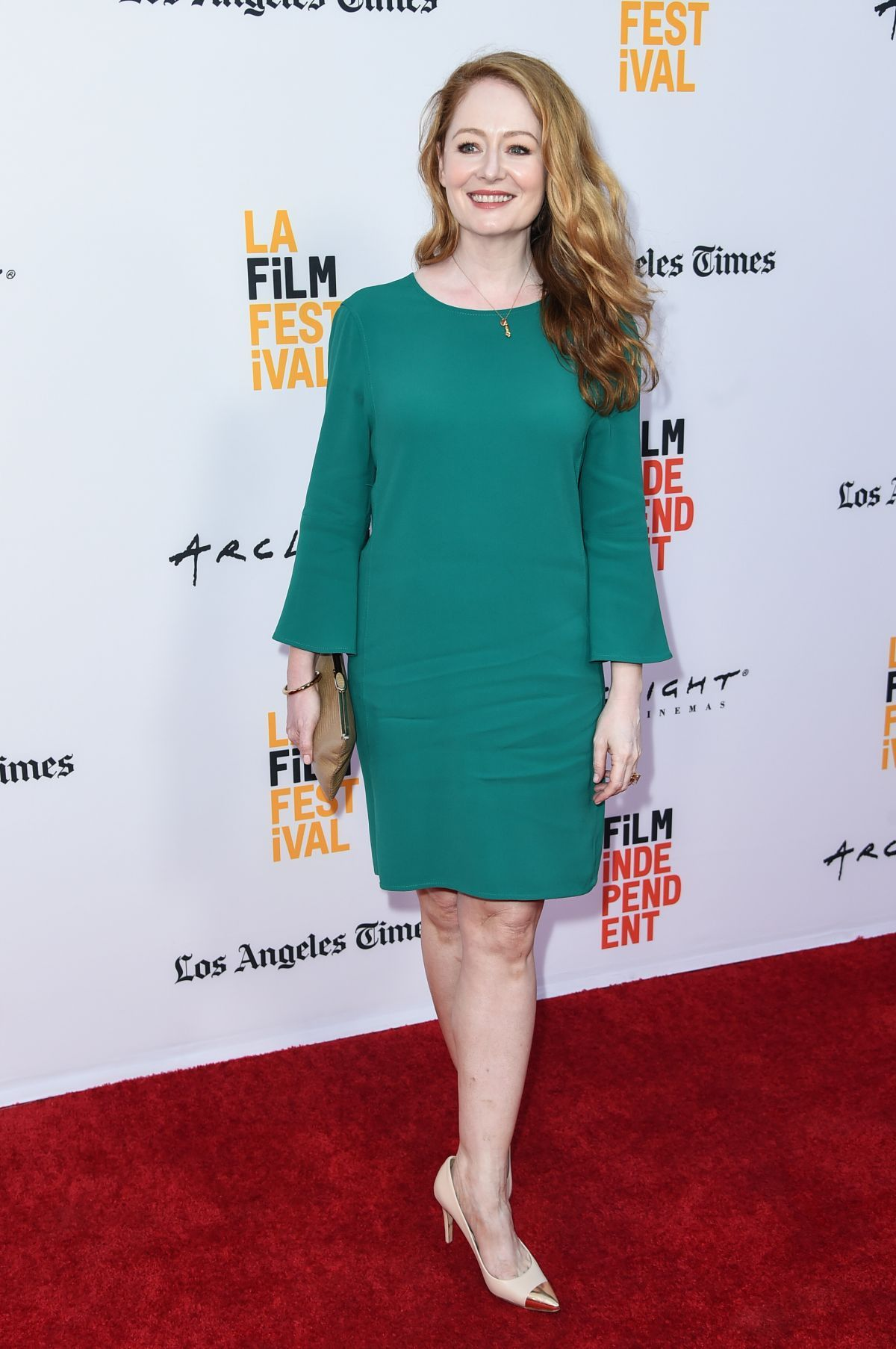 Miranda Otto At Annabelle Creation Screening At La Film