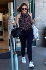 Molly Shannon Out for shopping in LA