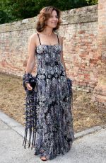 Roberta Armani At Jessica Chastain and Gian Luca Passi Wedding, Villa Tiepolo Passi, Italy