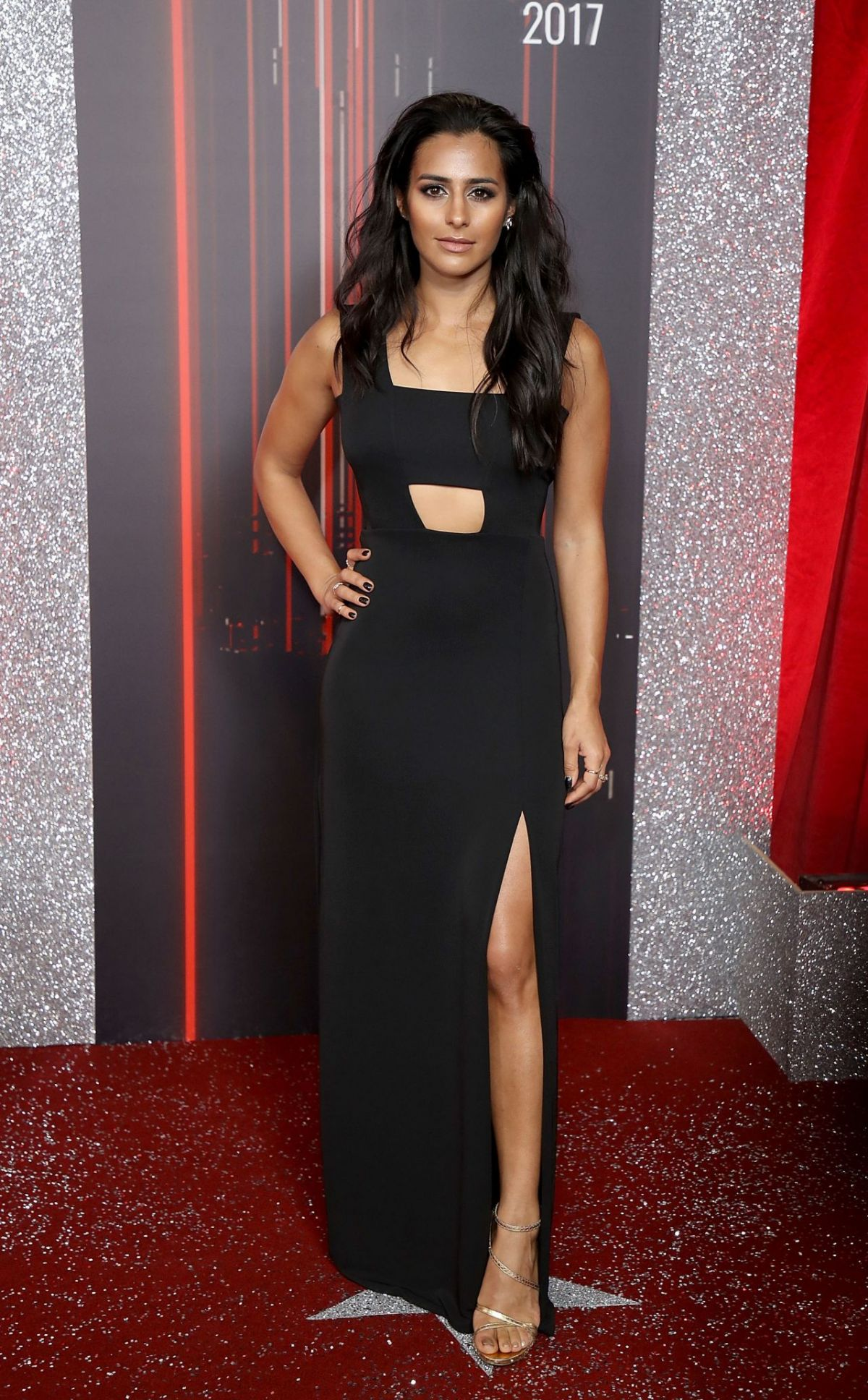 Sair Khan At British Soap Awards in Manchester - Celebzz