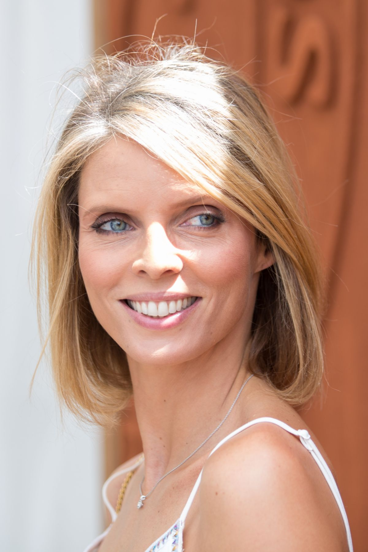 Sylvie Tellier At The French Open Mens Final At Roland Garros In Paris, France