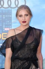 Veronica Dunne At Spiderman: Homecoming Premiere in Los Angeles