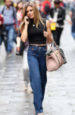 Zoe Hardman Out and About in London