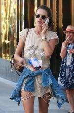 Alessandra Ambrosio Out in Beverly Hills