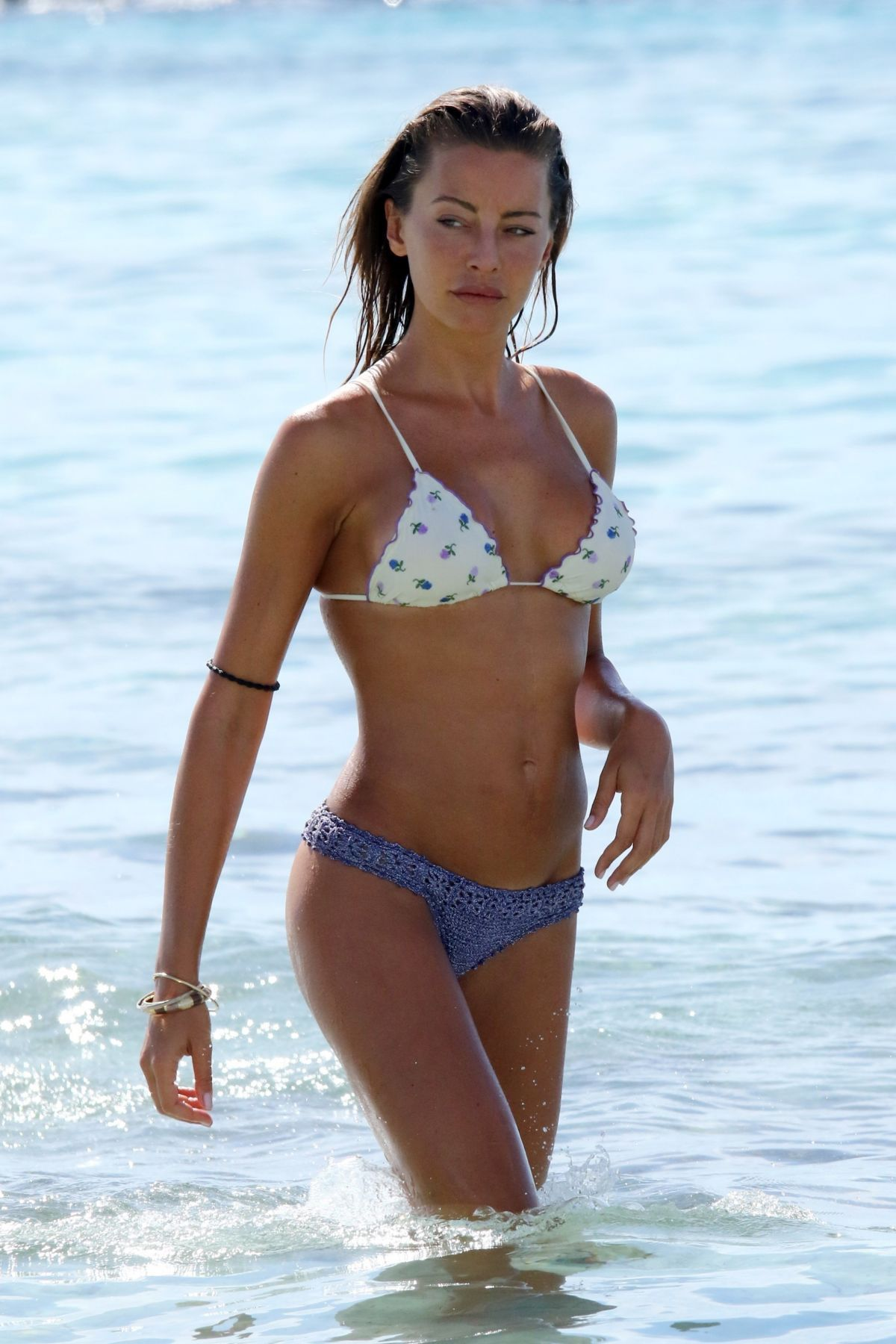 Alessia Tedeschi In Bikini at a beach in Formentera