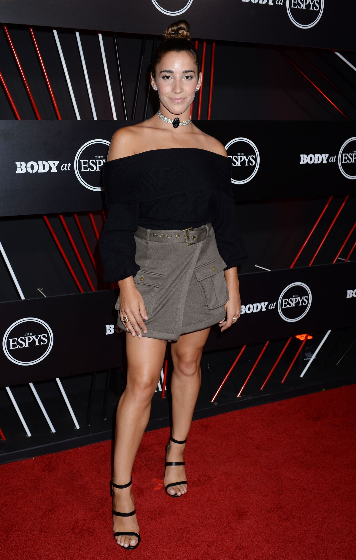 Aly Raisman At BODY at ESPYS party in Hollywood