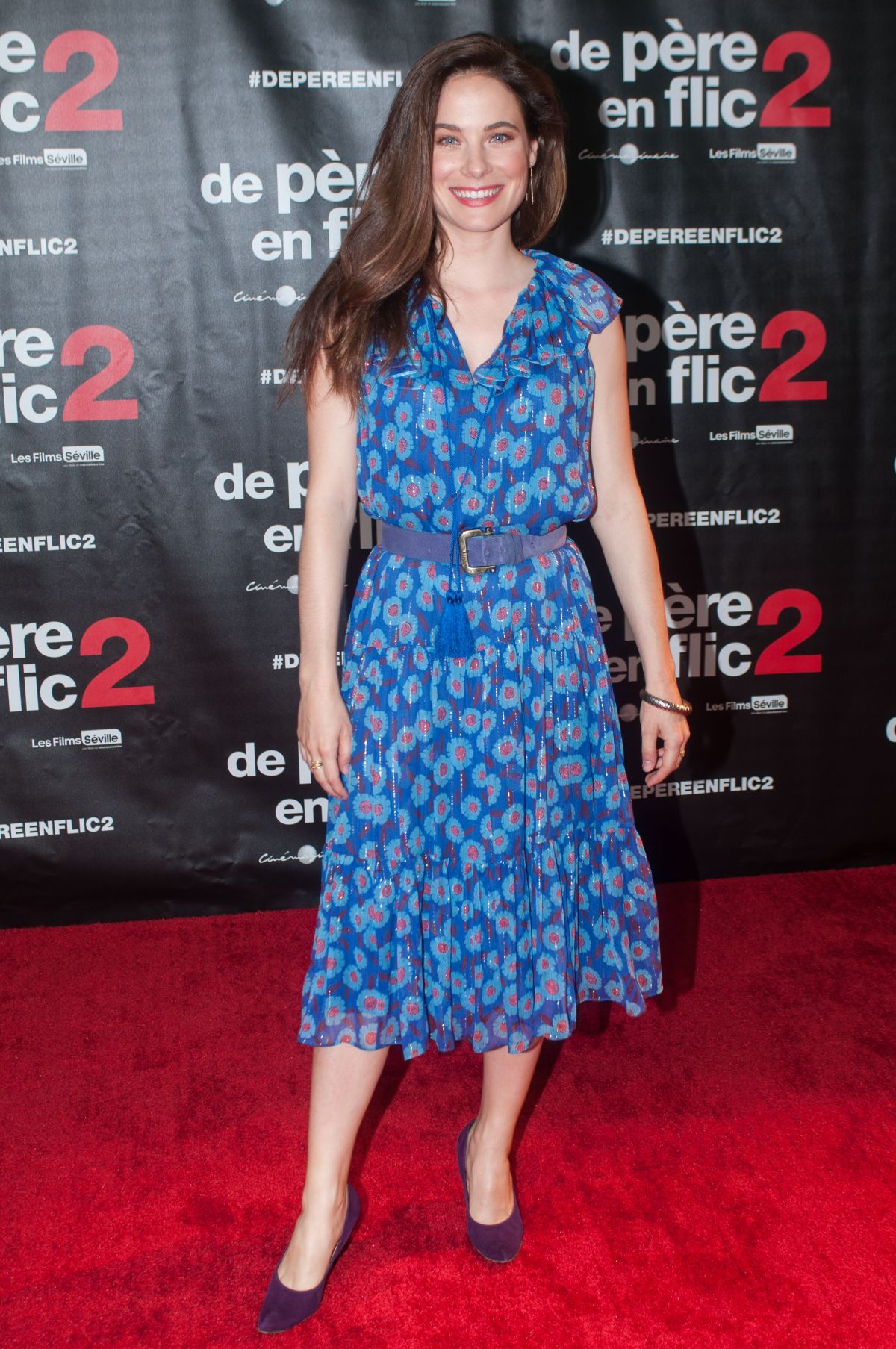 Caroline Dhavernas At Fathers and Guns 2 Premiere