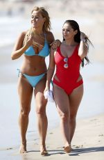 Chloe Meadows and Courtney Green On the beach in Los Angeles