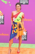 Erin Lim At Nickelodeon Kids' Choice Sports Awards in Los Angeles