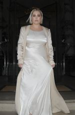 Hayley Hasselhoff Seen at the beauty industry white party in London