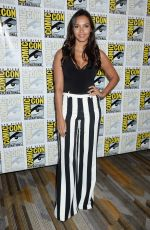 Jessica Lucas At gotham press line at comic-con in San Diego