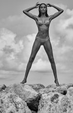 Joan Smalls by Chris Colls for Smart & Sexy