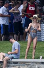 Julianne Hough On the lake front in Coeur d
