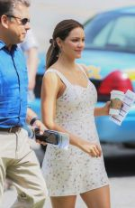 Katharine McPhee On the set of The Lost Wife of Roberts Durst