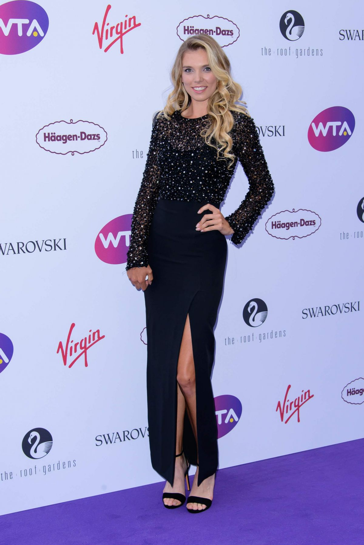 Katie Boulter At WTA Pre-Wimbledon Party - Celebzz - Celebzz