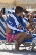 Katie Cassidy On the beach in Miami