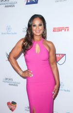 Laila Ali At 3rd Annual Sports Humanitarian of the Year Awards in Los Angeles
