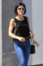 Lucy Hale Out and about in Beverly Hills
