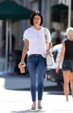 Lucy Hale Out for Coffee in LA