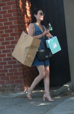 Lucy Hale Seen leaving Rachel Comey
