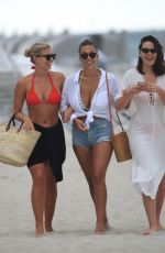 Natasha Oakley & Devin Brugman At a beach in Miami