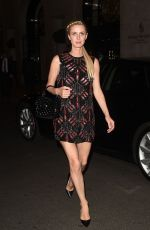 Nicky Hilton Is seen at the Four Seasons hotel in Paris