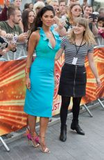Nicole Scherzinger At The X Factor Boot Camp Arrivals in London