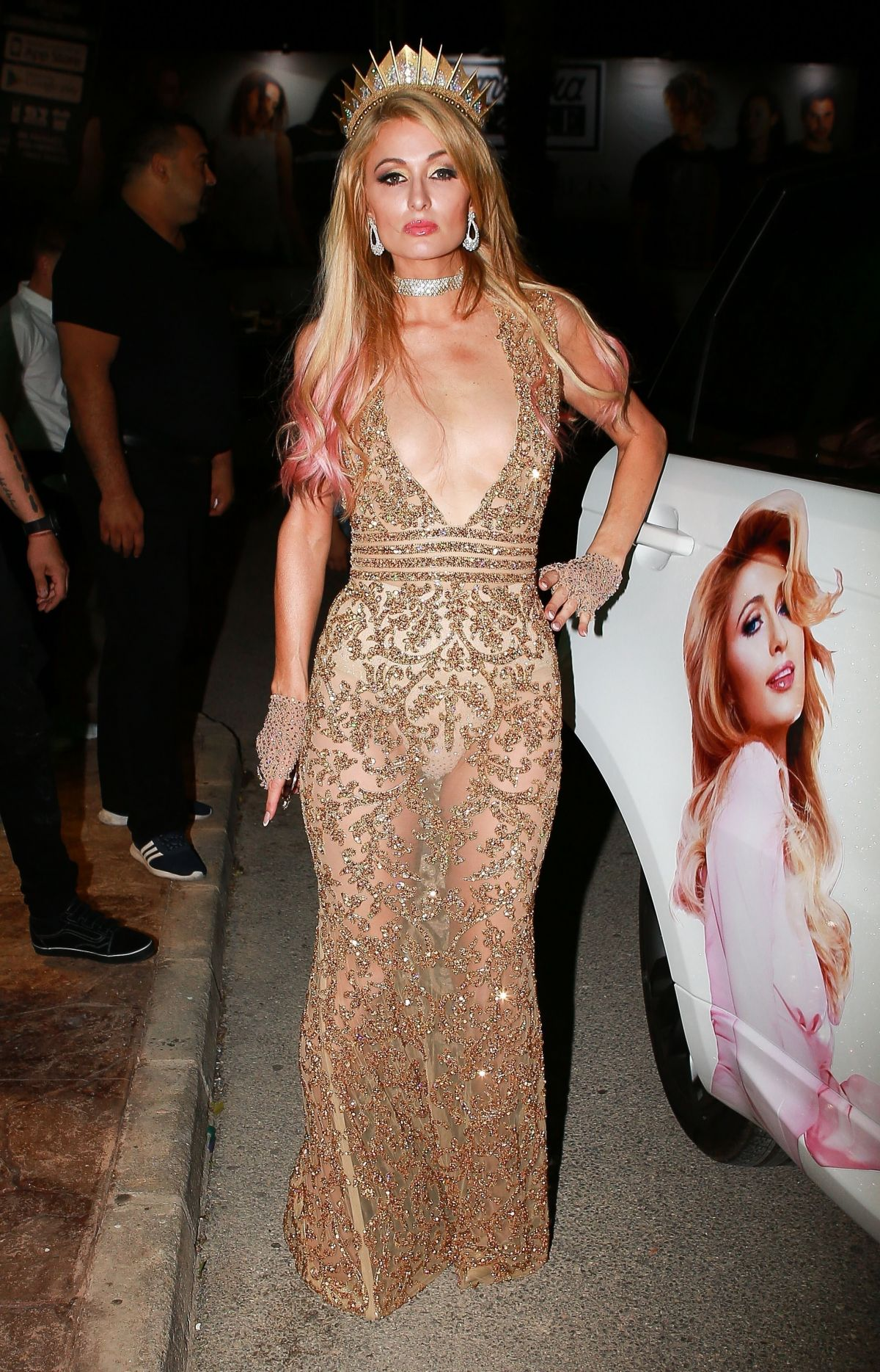 Paris hilton at night out in ibiza celebzz celebzz - Paris hilton ibiza ...